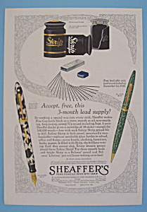 Vintage Ad: 1930 Sheaffer's Pens (Image1)