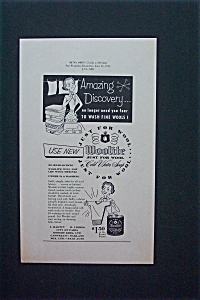1953 Woolite Cold Water Soap with a Woman  (Image1)