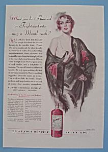 Vintage Ad: 1930 Lavoris (Image1)