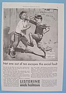 Vintage Ad: 1930 Listerine By Frances Tipton Hunter (Image1)