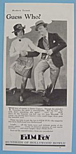 Vintage Ad: 1932 Film Fun w/ James Cagney (Image1)