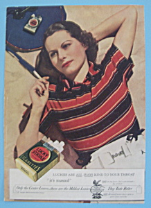 Vintage Ad: 1934 Lucky Strike Cigarettes