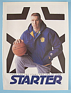 Vintage Ad: 1992 Starter Jackets w/ Chris Mullin (Image1)