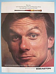 Vintage Ad: 1991 Easton w/ Joe Montana (Image1)