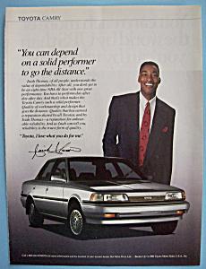 Vintage Ad: 1990 Toyota Camry w/ Isiah Thomas (Image1)