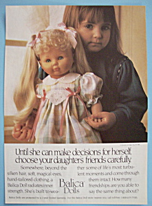 1989 Balica Dolls with Little Girl Holding A Doll (Image1)