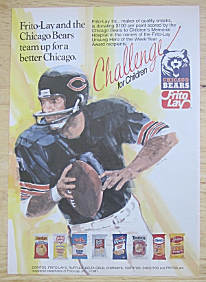 1988 Frito Lay with Chicago Bears  (Image1)