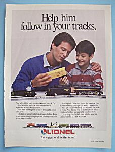 Vintage Ad: 1988 Lionel Trains (Image1)