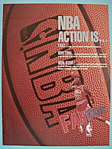 1988 NBA with Basketball's Great Player Michael Jordan (Image1)