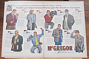 1953 McGregor Sportswear with Red Barber's Forecast  (Image1)