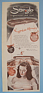 Vintage Ad: 1947 Star Glo Fluorescent Bed Lamp (Image1)