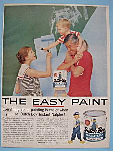 Vintage Ad: 1958 Dutch Boy Nalplex Starlight Blue (Image1)