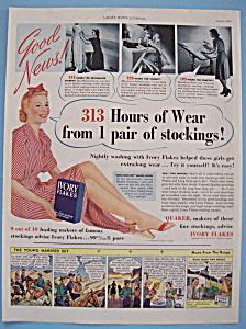 Vintage Ad: 1940 Ivory Flakes (Image1)