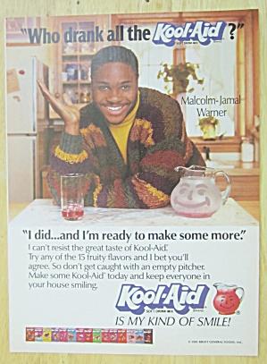 1991 Kool Aid with Malcolm Jamal Warner (Image1)