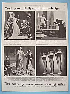1940 Kotex Sanitary Napkins with Women  (Image1)