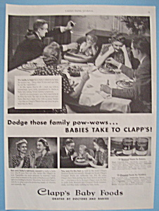 Vintage Ad: 1940 Clapp's Baby Foods