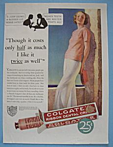 Vintage Ad: 1932 Colgate Dental Cream (Image1)