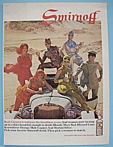 Vintage Ad: 1968 Smirnoff Vodka (Image1)