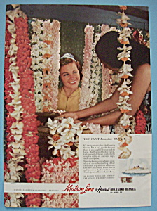Vintage Ad: 1940 Matson Line (Image1)