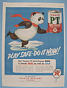 Vintage Ad: 1953 Texaco PT Anti - Freeze (Image1)