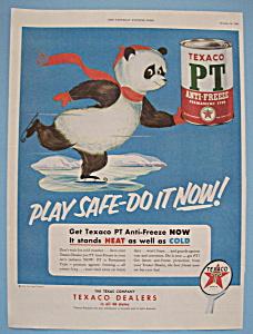 Vintage Ad: 1953 Texaco PT Anti - Freeze (Image1)