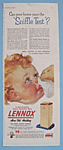 Vintage Ad: 1953 Lennox Aire - Flo Heating (Image1)
