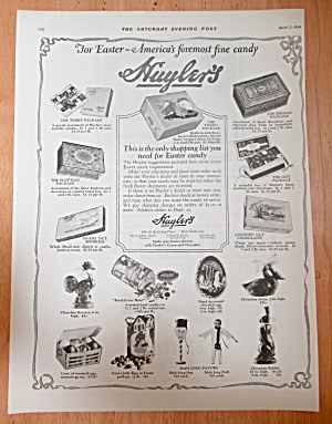 1924 Huyler Cocoa & Chocolate with Variety of Chocolate (Image1)