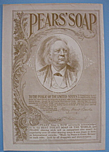 Vintage Ad: 1895 Pear's Soap (Image1)