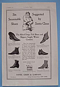 Vintage Ad: 1895 Alfred Dolge's Felt Slippers & Shoes (Image1)