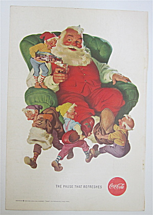 1960 Coca-Cola (Coke) with Santa Claus & Elves (Image1)