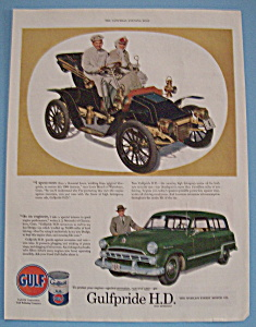 Vintage Ad: 1953 Gulfpride H.D. Motor Oil (Image1)