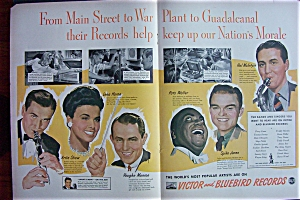 1943 Victor and Bluebird Records with Lena Horne & More (Image1)