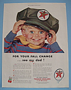 Vintage Ad: 1953 Texaco (Image1)