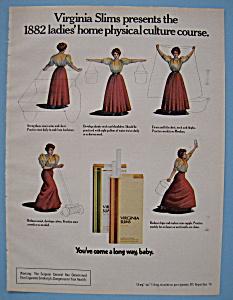 Vintage Ad: 1976 Virginia Slims Cigarettes (Image1)