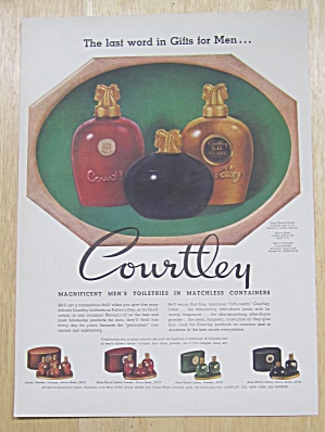1947 Courtley Men's Toiletries w/ After Shave & Cologne (Image1)
