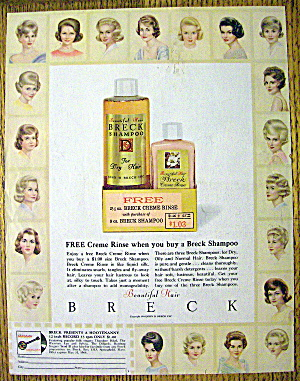 1963 Breck Shampoo with 21 Breck Women (Image1)