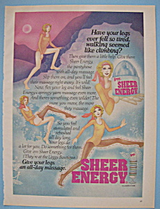 Vintage Ad: 1975 Legg's Sheer Energy Pantyhose (Image1)