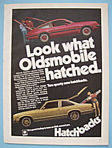 Vintage Ad: 1975 Oldsmobile Hatchbacks