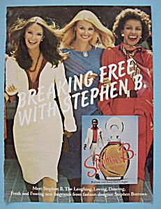 Vintage Ad: 1975 Stephen B. Pefume (Image1)