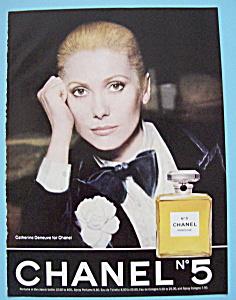 1975 Chanel No. 5 Perfume with Catherine Deneuve (Image1)
