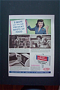 1942 Du Pont Cellophane with 3 Ways To Prevent Waste (Image1)
