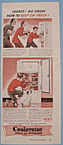 1943 Coolerator Washed Air Refrigerator with Family (Image1)