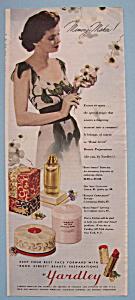 Vintage Ad: 1943 Yardley (Image1)