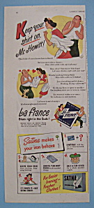 Vintage Ad: 1944 La France & Satina Soap (Image1)
