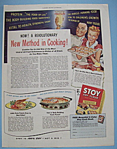 Vintage Ad: 1944 Stoy Soy Flour