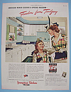 Vintage Ad: 1944 Youngstown Kitchens (Image1)