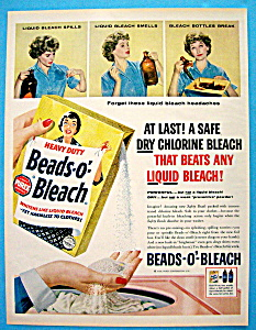 Vintage Ad: 1958 Beads O Bleach (Image1)
