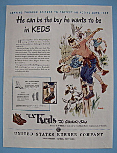 Vintage Ad: 1946 Keds Shoes (Image1)
