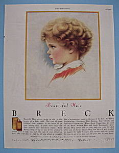 1946 Breck Shampoo with Side View Of Young Child (Image1)