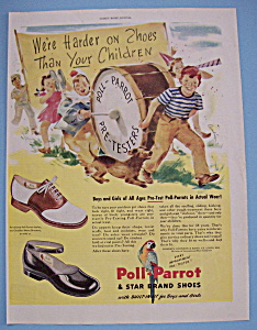 Vintage Ad: 1946 Poll - Parrot Shoes (Image1)